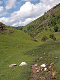 Dovedale in Derbyshire. Stock Image