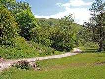 Dovedale in Derbyshire. Royalty Free Stock Images