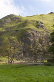 Dovedale, district maximal, Derbyshire, Angleterre Images stock
