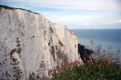 Dover Białe falezy, Anglia obraz royalty free