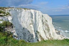 Dover bielu falezy Zdjęcia Royalty Free