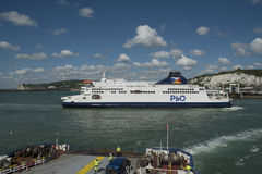 Dover car ferry Stock Images