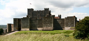 Dover castle Stock Photography