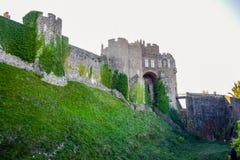 Dover Castle, ein mittelalterliches Schloss in Dover, Kent, England, Großbritannien lizenzfreies stockfoto