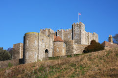 Dover Castle in England Royalty Free Stock Photography