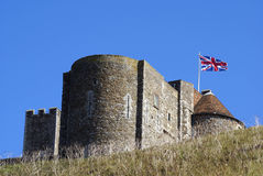 Dover Castle in England Royalty Free Stock Photo
