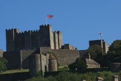 Dover Castle in England Stock Images