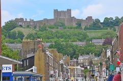 Dover Castle, het Verenigd Koninkrijk royalty-vrije stock foto's