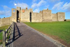 Dover Castle Keep Royalty Free Stock Photos
