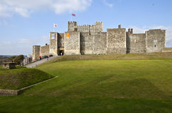 Dover Castle in Kent Stock Photos