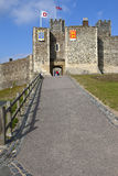 Dover Castle in Kent Stock Image