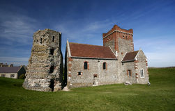 Dover Castle in Kent, England Royalty Free Stock Photos