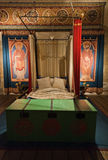 Dover castle kings bed chamber room Stock Images