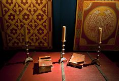 Dover castle kings chamber room Stock Photography