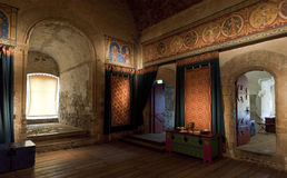 Dover castle kings chamber room. Dover castle keep kings chamber room uk england Stock Photos
