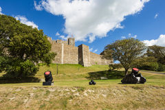 Dover Castle, a medieval castle in Dover, Kent, Royalty Free Stock Images