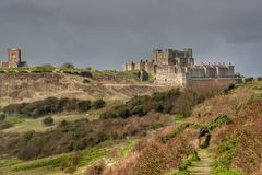 Dover Castle St Mary Castro Church Stock Images