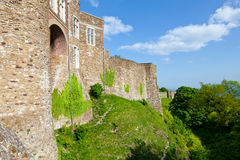 Dover Castle wall Royalty Free Stock Image