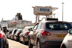 Dover cieśnina Obrazy Stock