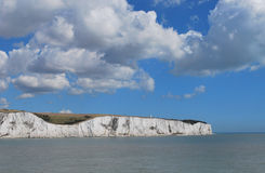 Dover_coastline Royalty Free Stock Photo