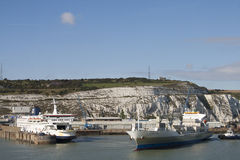 Dover harbor Stock Photography
