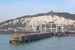 Dover Harbour foto de stock royalty free