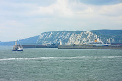 Dover Harbour Stock Photo