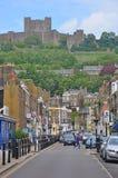 Dover kasztel, Zjednoczone Królestwo zdjęcie royalty free