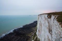 Dover klifu white zdjęcia stock