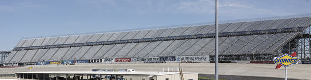 Dover Motor Speedway from infield stock photography
