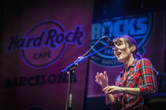 Dover performs at the Hard Rock Rocks La Merce Stock Images