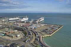 Dover port arkivfoto
