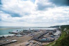 dover port Royaltyfria Bilder