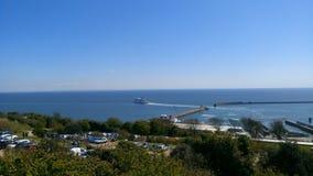 Dover port Arkivfoton