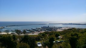 Dover port Arkivbild