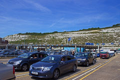 Dover port for ferries Royalty Free Stock Photography