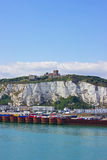 Dover port for ferries Stock Photography