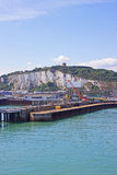 Dover port for ferries Royalty Free Stock Photos