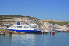 Dover port for ferries Stock Photos