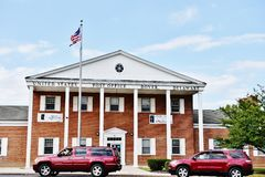 Dover post office delaware state usa Royalty Free Stock Photos