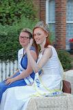 Dover princesses carnival Royalty Free Stock Photography