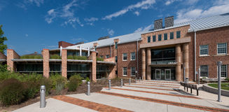 Dover Public Library. At 35 E Loockerman Street in Dover, Delaware on July 20, 2015 Stock Photo