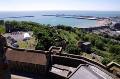 Dover Castle & Beach Resort Stock Photos