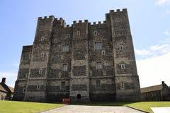 Dover slott arkivbild