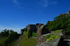 Dover slott Arkivfoto