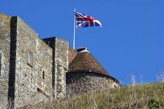 Dover slott i England Arkivfoton