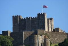 Dover slott i England Royaltyfri Bild
