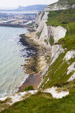 DOVER, UK - APRIL 12, 2014: - Dover port, busiest port of England got the plan to build the Third terminal Royalty Free Stock Photos