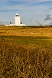 A view of the South Foreland Lighthouse. Dover, United Kingdom, 18th January 2019:- A view of the South Foreland Lighthouse near the Port of Dover over looking royalty free stock photography