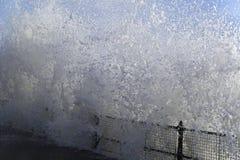 Dover Wave Splash Imágenes de archivo libres de regalías